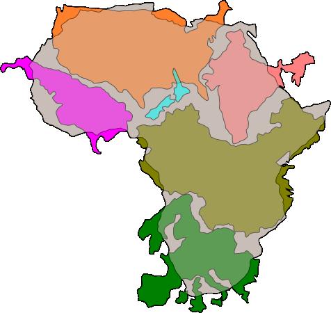 USA, Indien, Nya Zealand, Argentina, Kina och Europa på Afrika