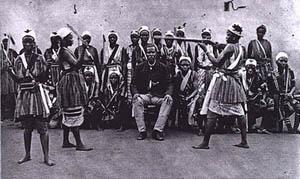 Minokrigare från Dahomey