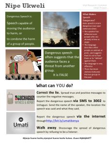 Affisch från Umati